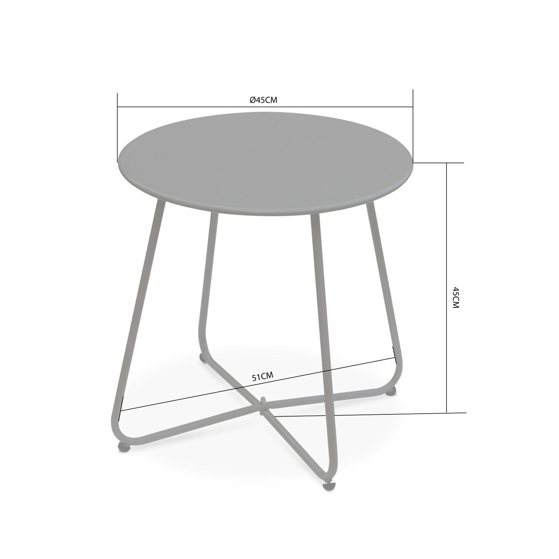 table d appoint design 45 cm de diametre cecilia