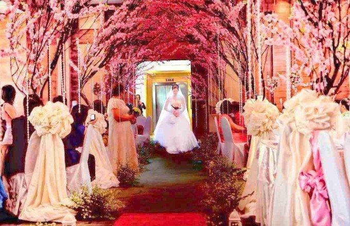 Dekorasi Pernikahan Cherry Blossom Theme 1 Pict