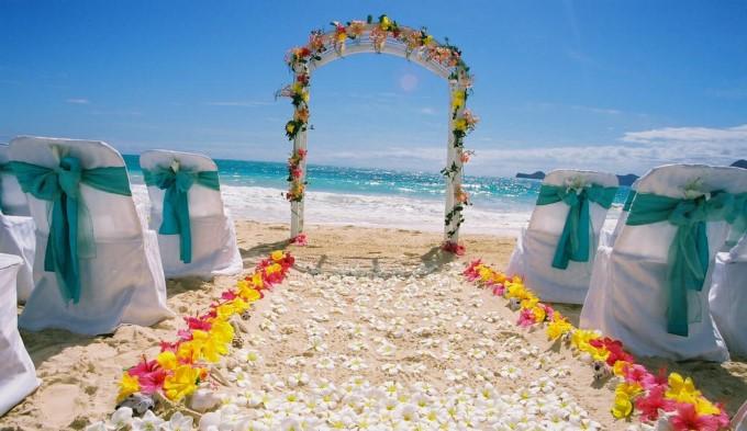 Dekorasi Pernikahan Dekorasi Pantai 1 Pict