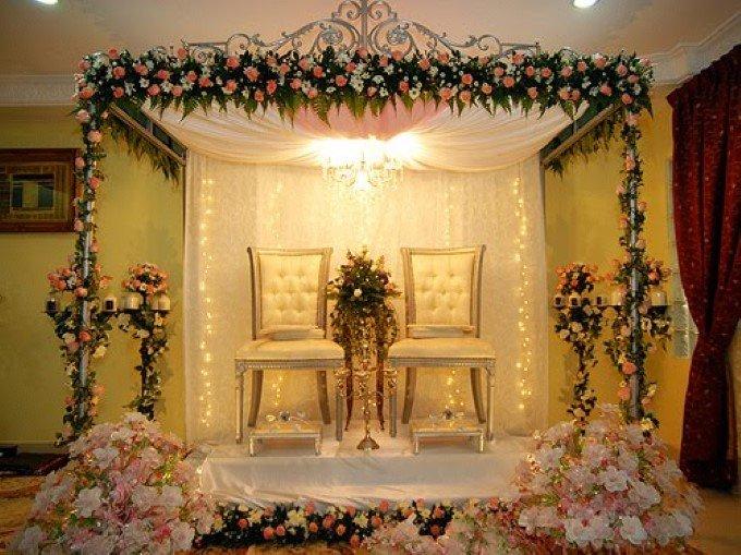Dekorasi Pernikahan Minimalis Decoration Pict