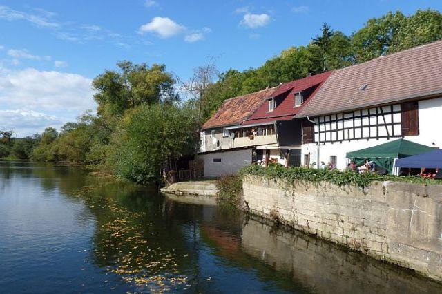 An der alten Mühle in Wetterzeube