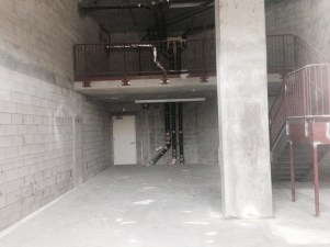 Vacant space being converted to higher-demand loft apartment