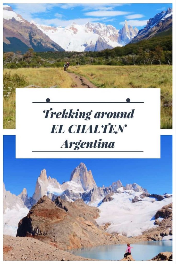 hiking in El Chalten