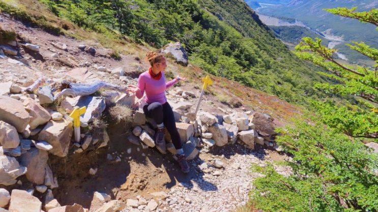 trail to tres lagunas el chalten