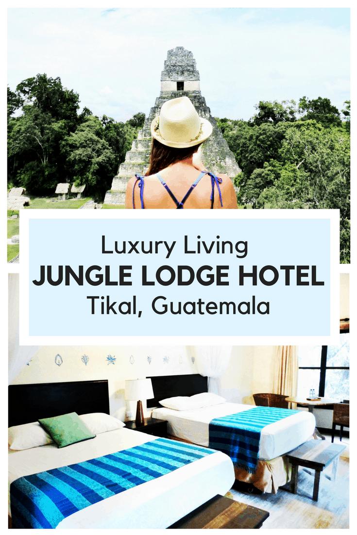 luxury living at Jungle Lodge Hotel Tikal