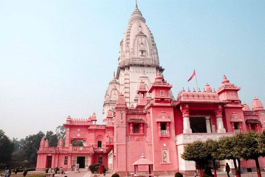 Kasha Vishwanath temple pink