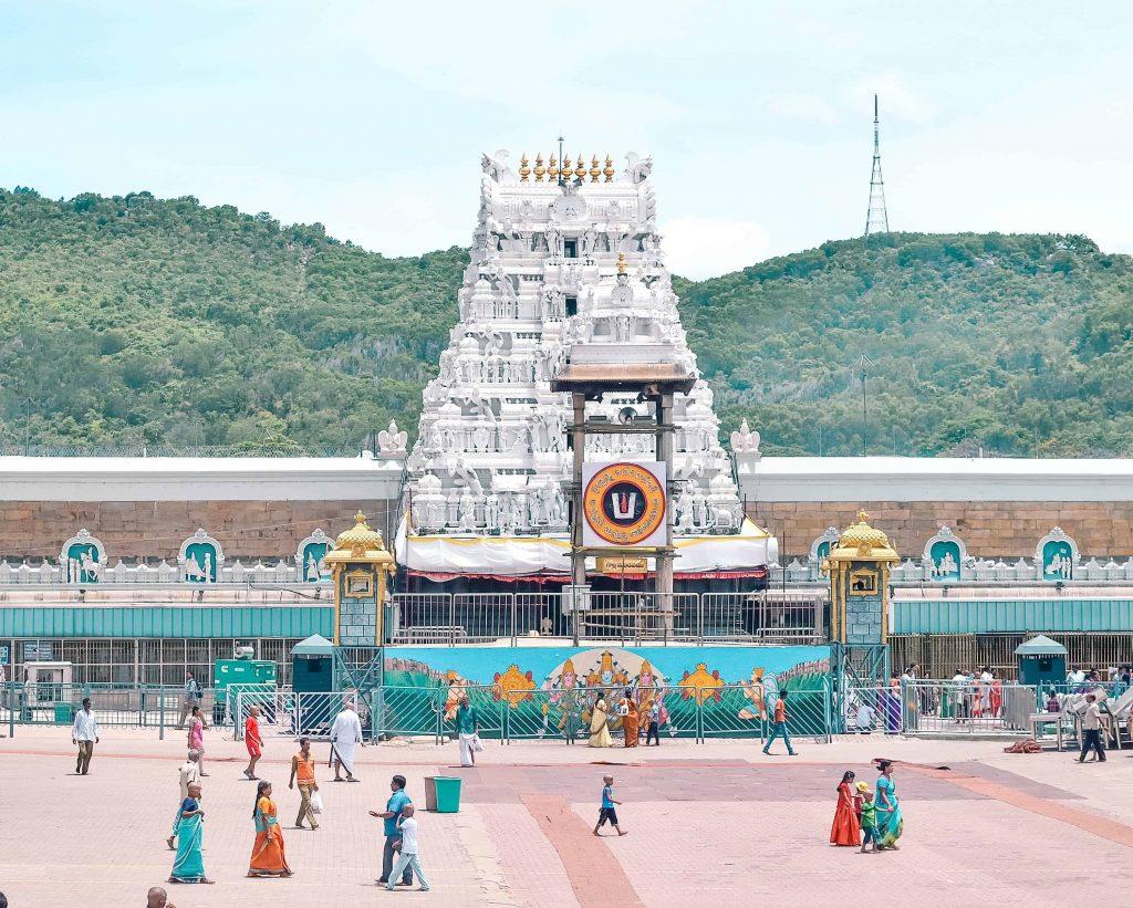 Tirumala Venkateswara temple entrance
