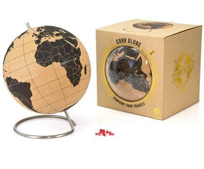 cork pin globe