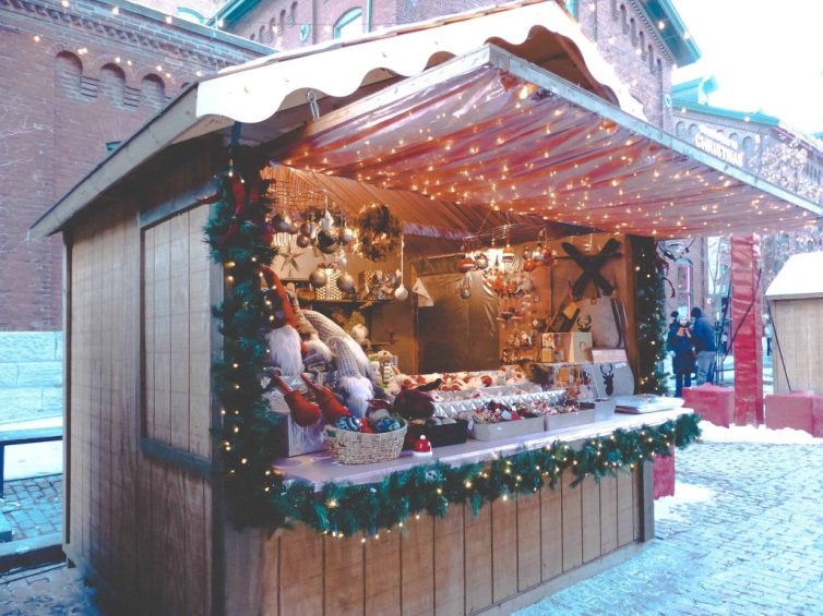 Shopping at the Toronto Christmas Market the best christmas stores in Ontario