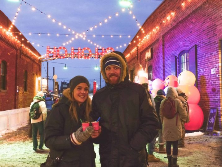 Hot Chocolate at the Toronto Christmas Market
