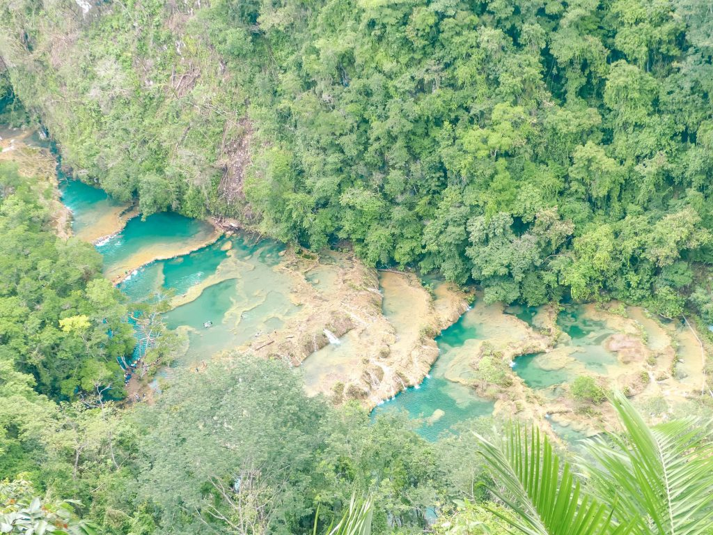 Semuc Champey from the look out