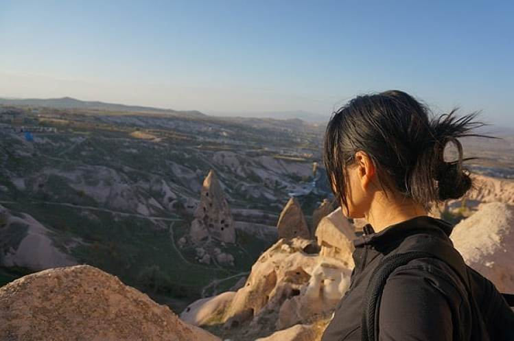 hiking in cappadoccia turkey