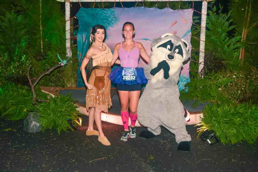 disney princess half marathon pocahontas and Miko