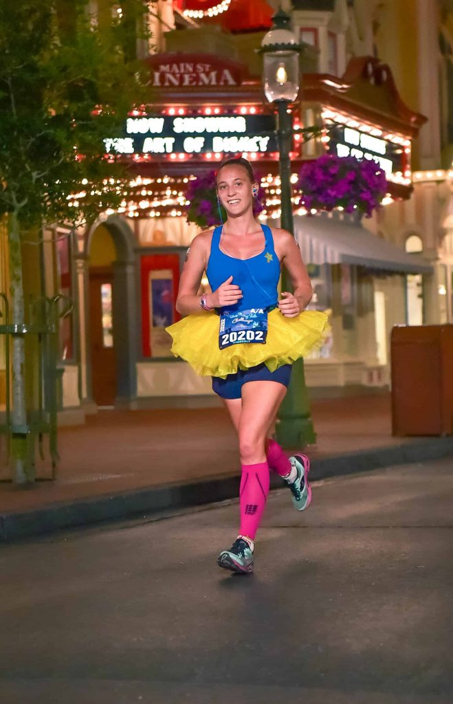 princess half marathon main street run
