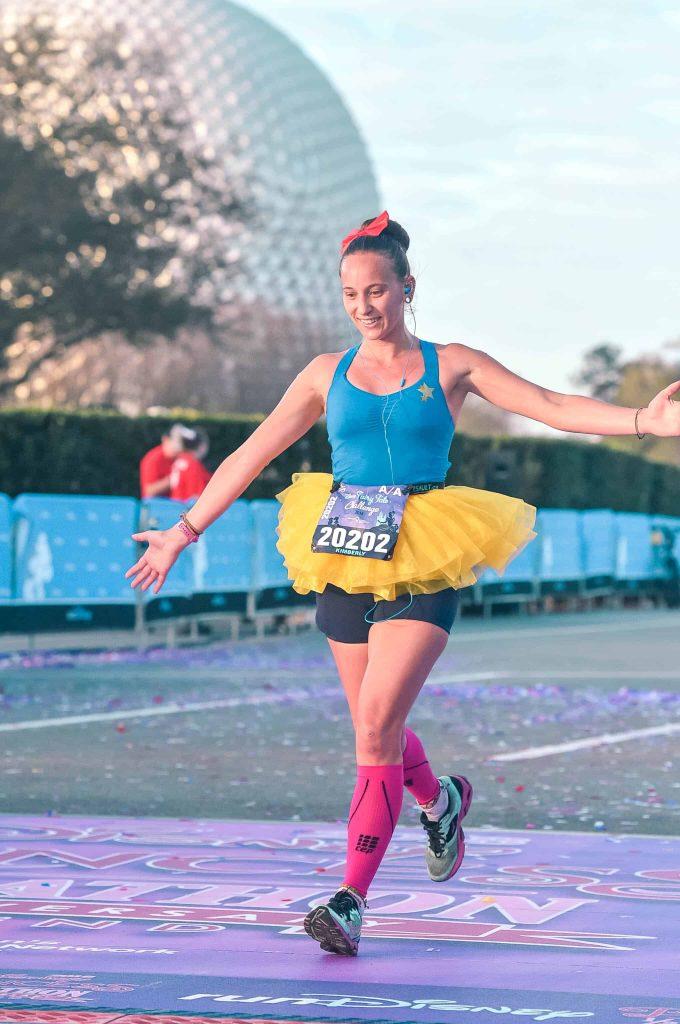 disney princess half marathon finish line