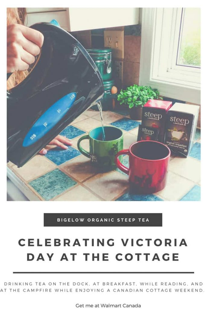 celebrating victoria day weekend by drinking steep teas by bigelow #teaproudly