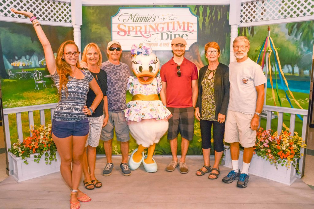 minnies springtime dine at hollywood and Vine in Hollywood studios disney world adults only