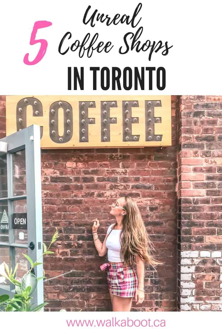 Best best coffee shops in Toronto