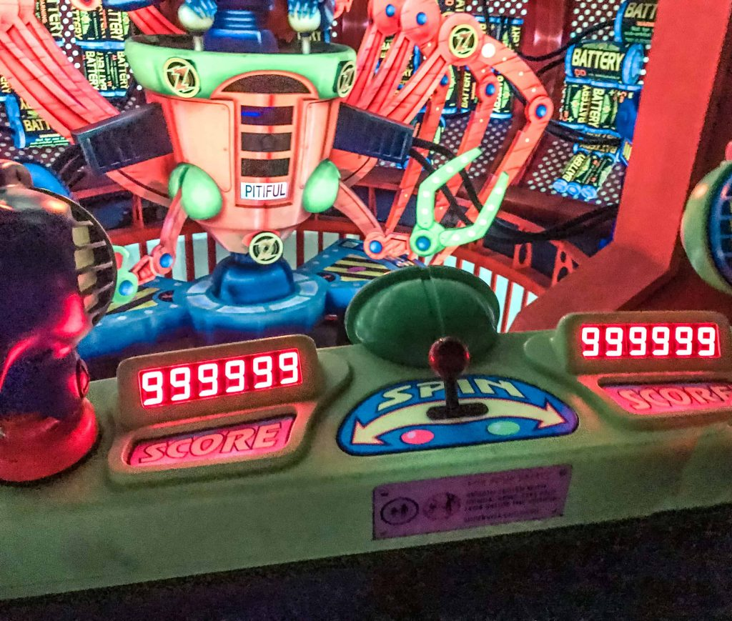 buzz lightyear perfect score