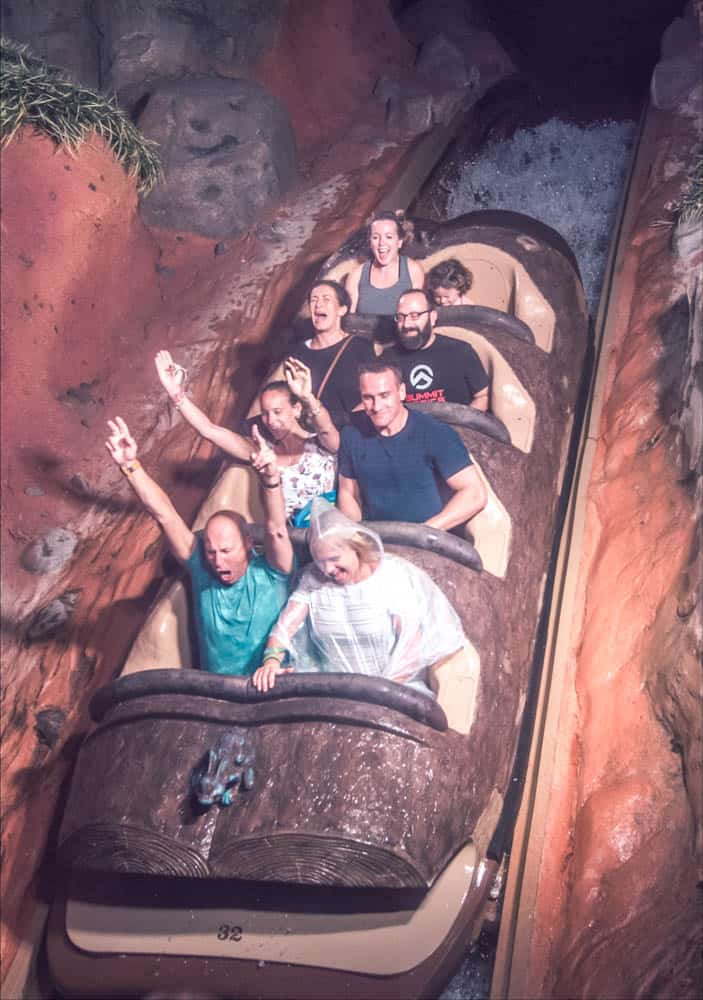 riding splash mountain at magic kingdom with a disney fastpass secrets
