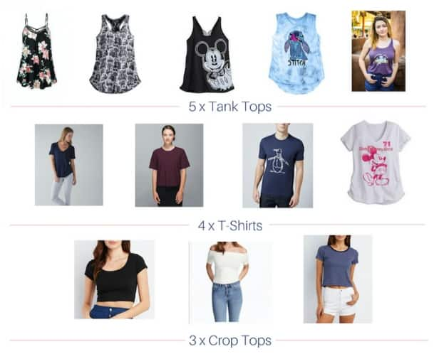 tops in capsule collection