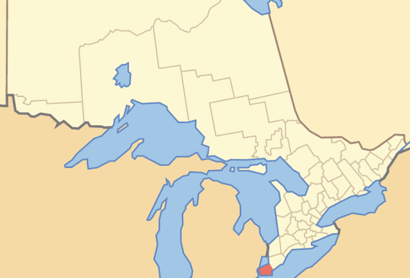 where is windsor essex county