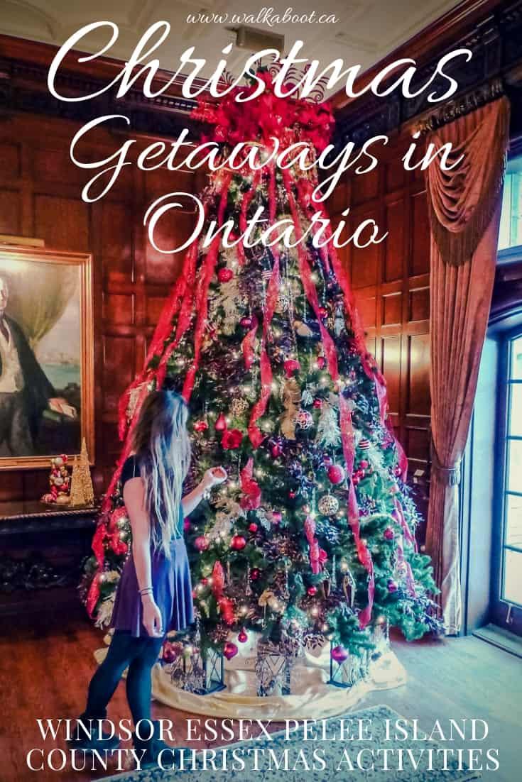 best christmas getaways in ontario