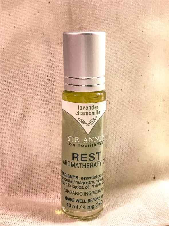 ste. annes spa CBD oil massage