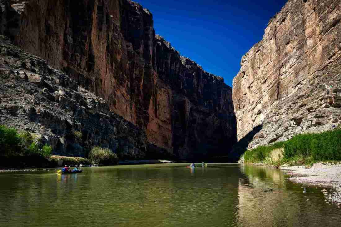 kayaking rio grande texas