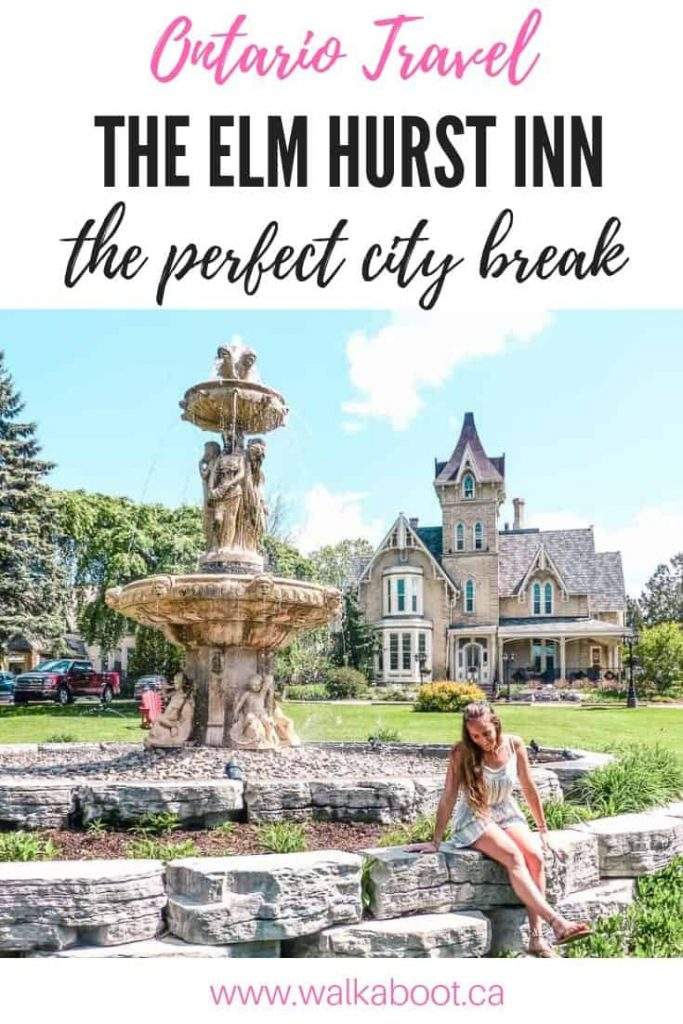 Wellness at the elm hurst inn and spa