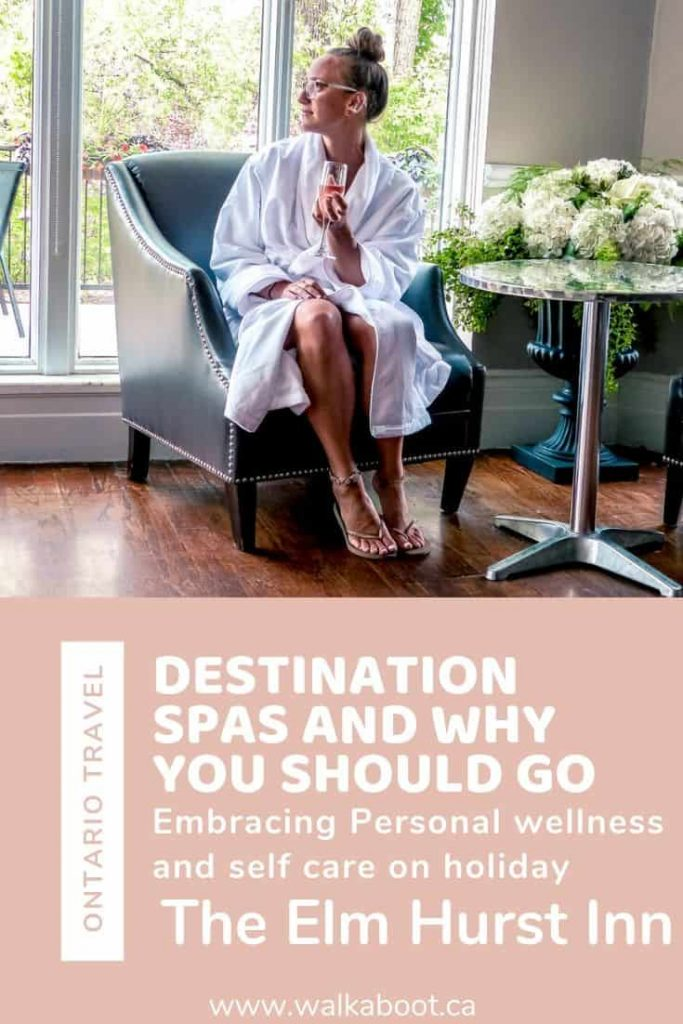 Destination spas in Ontario