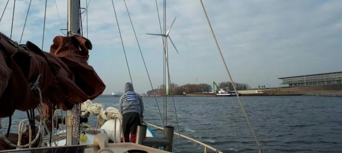 Kanalfahrt Ijmuiden bis Amsterdam