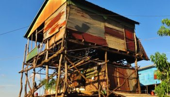 Stilted house in Kampong Chhnang