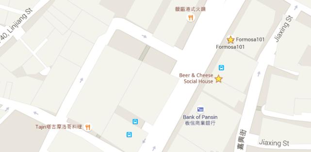 travel tips - accomodation google maps