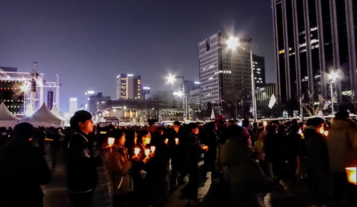 History in the Changing: Seoul Protests