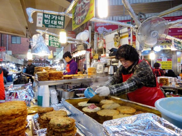 food in south korea
