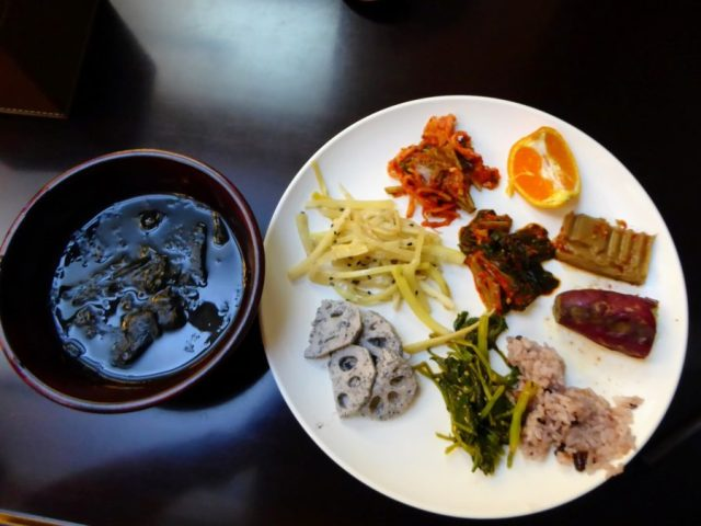 vegetarian food in south korea