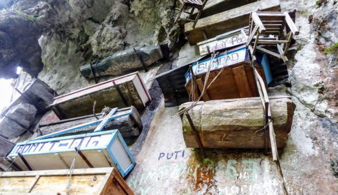Hanging Coffins of Sagada: Hanging Out With The Dead