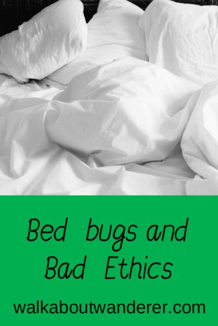 Bed Bugs and Bad Ethics by Walkabout Wanderer