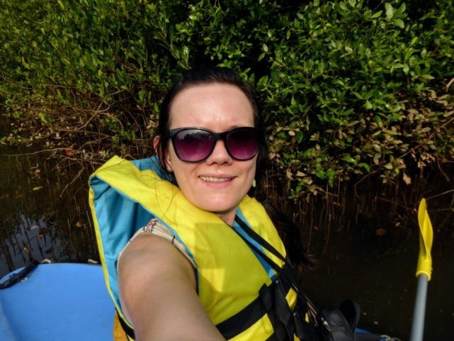 kayaking tour in Goa