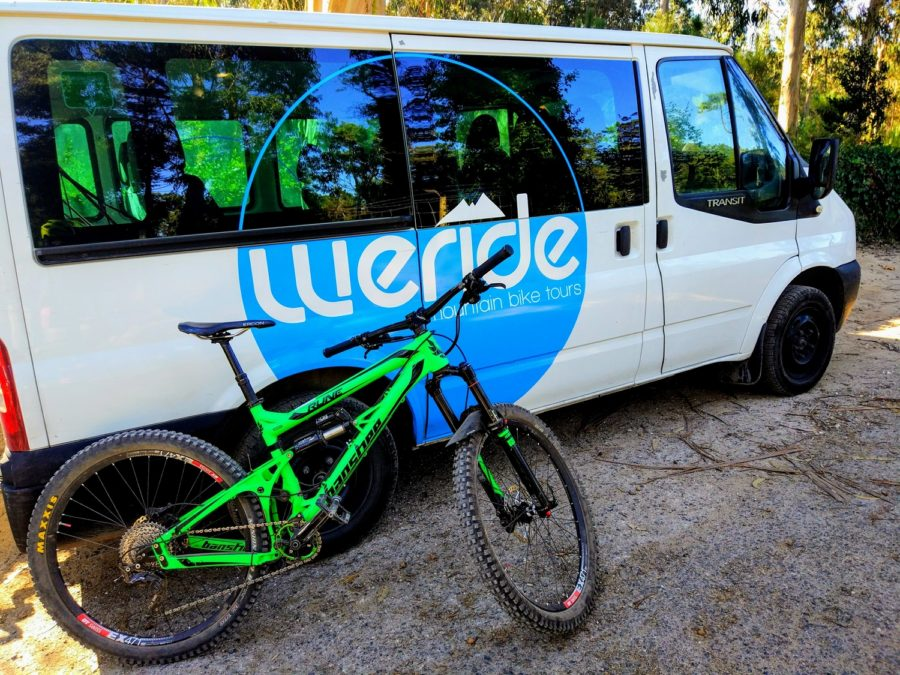 Mountain Biking Sintra with WERIDE, Lisbon Portugal.