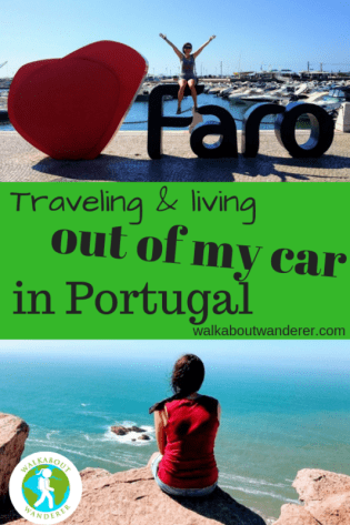 Travelling and living out of my car in Portugal by Walkabout Wanderer
