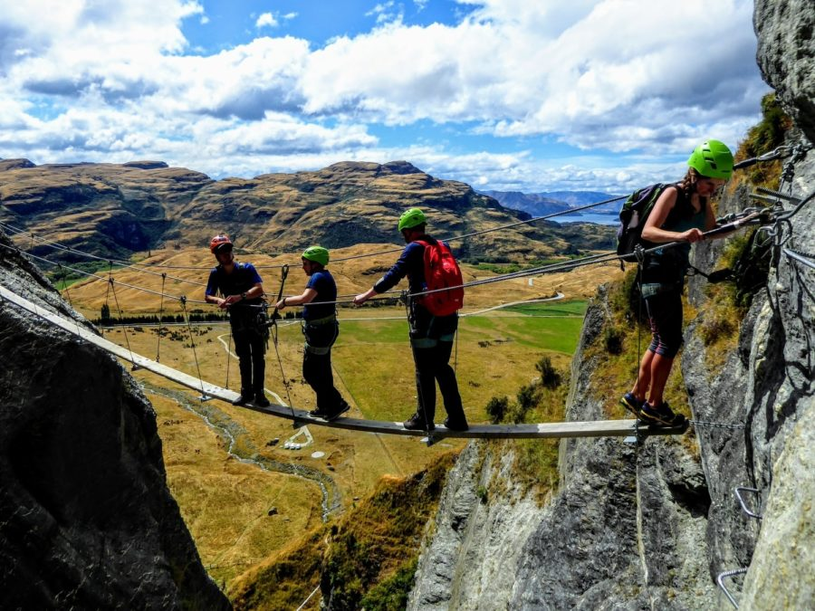 Via Ferrata in Wanaka With Wildwire