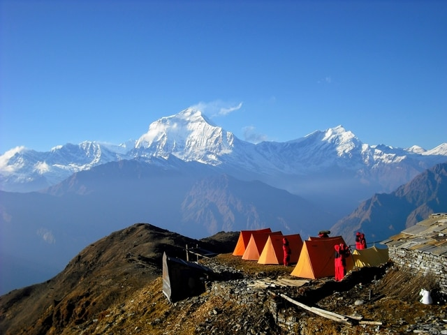 World Expeditions nepal best Annapurna Hike Kopra Ridge
