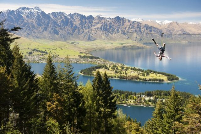 Ziptrek Ecotours Adventure activities Queenstown ziplining