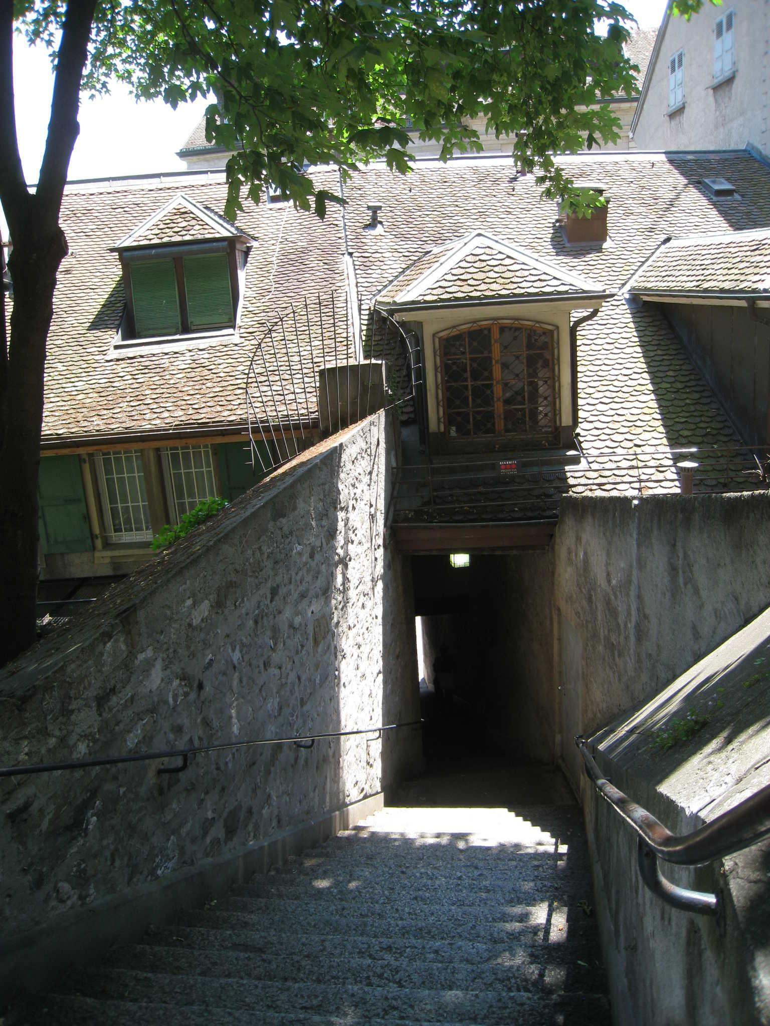 瑞士(9)日內瓦湖區─日內瓦   馬可波娃邊走邊看