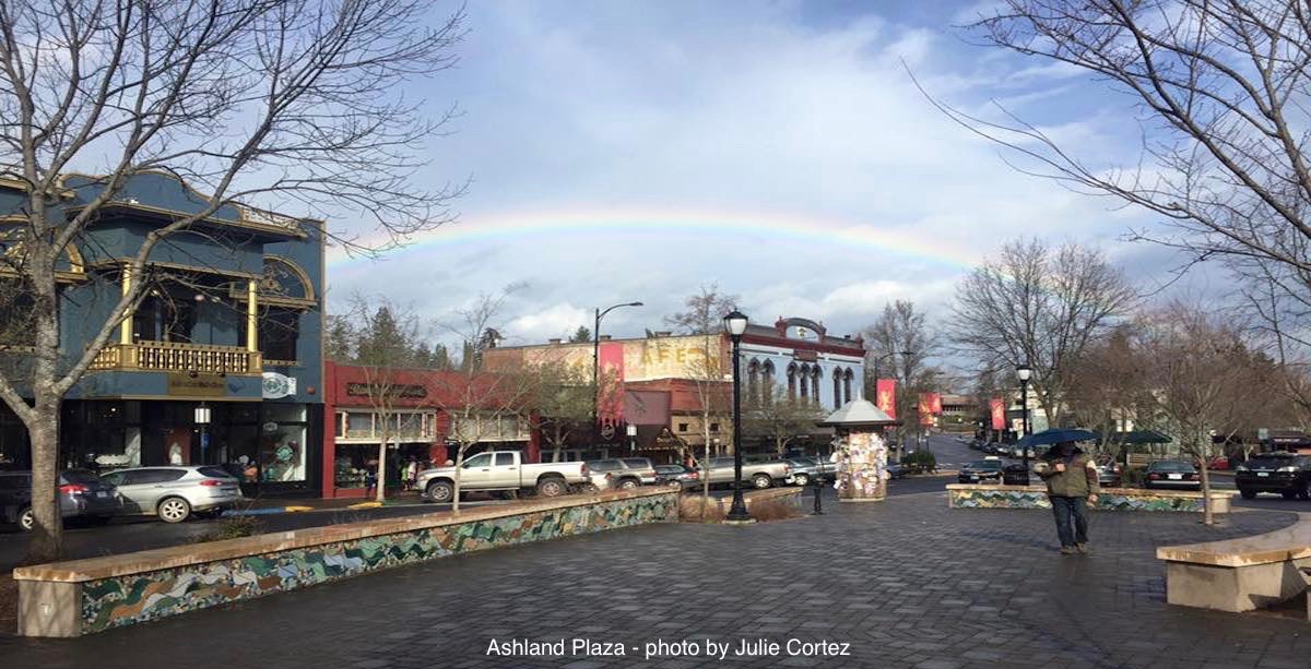 Ashland Oregon rainbow