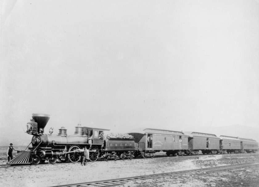 Ashland, railroad, 1884