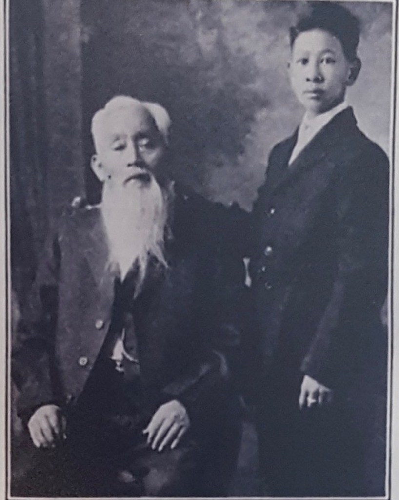 Wah Chung and son Sammy, Ashland Chinese