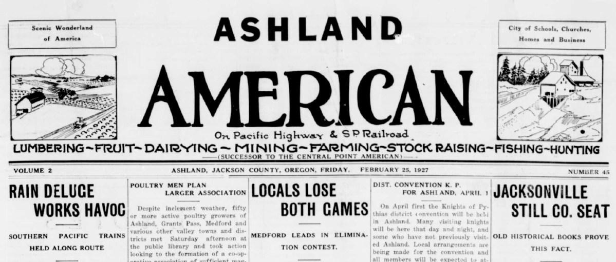 Hundreds Stranded in Ashland during the Flood of 1927